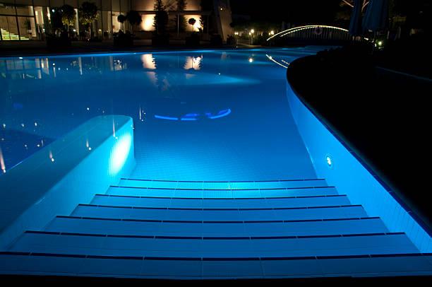 Luxury hotel's swimming pool, Antalya, Turkey
